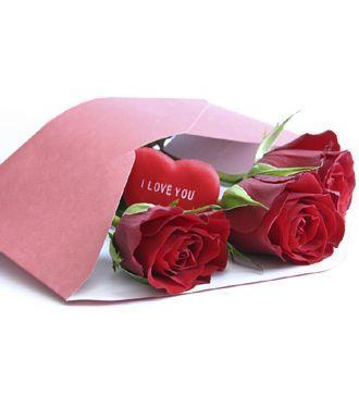 roses love letter